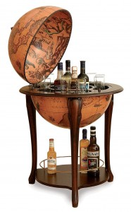 Image of Aristocratic Floor Globe Bar