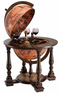 Image of Executive Suite Floor Globe Bar