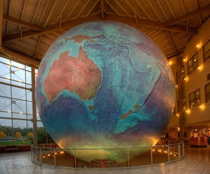 Image of Eartha, the world's largest rotating globe